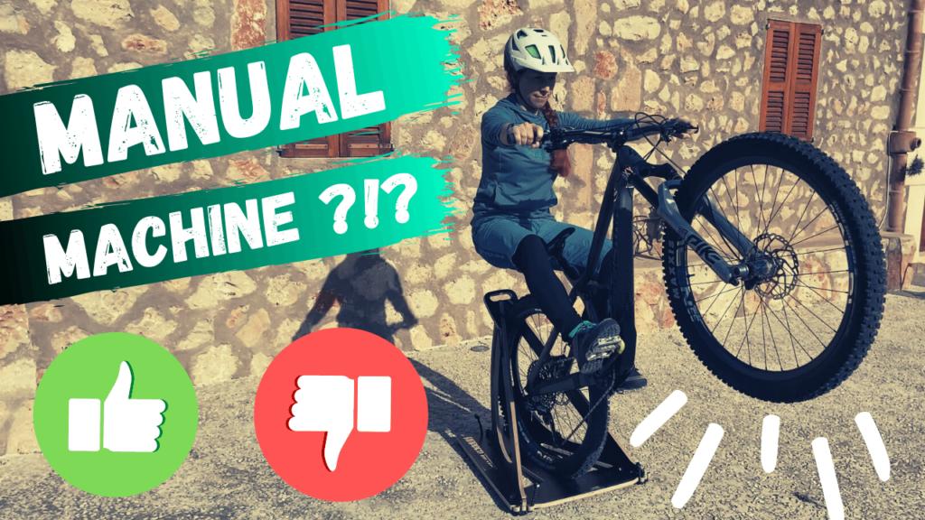 Mit deinem Mountainbike den Manual lernen mit der Manual Machine