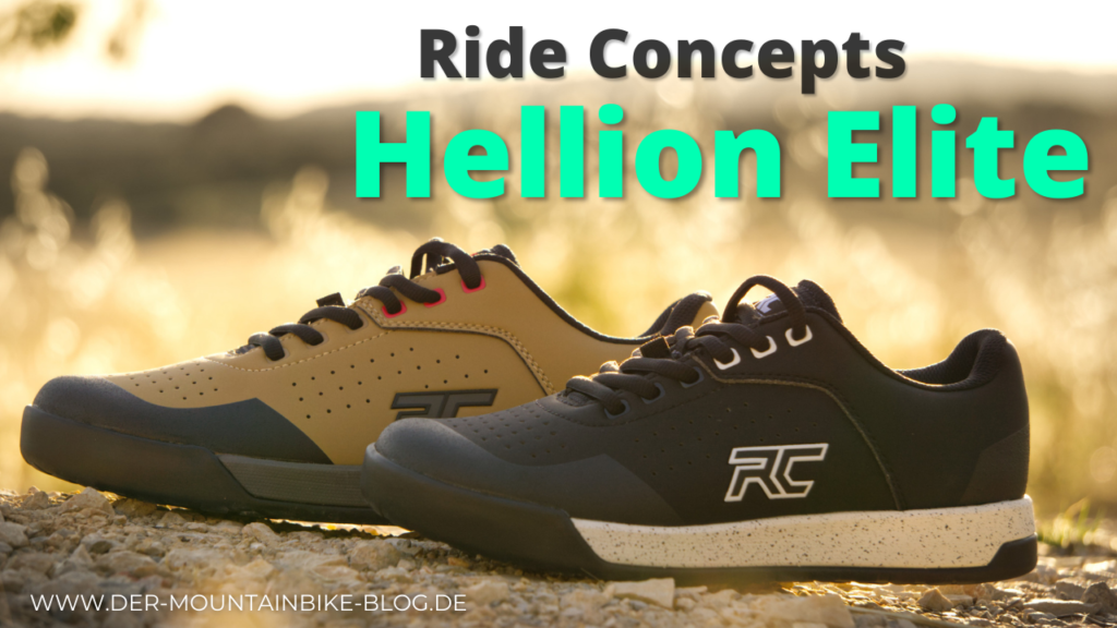 Testbericht der Flatpedal-Mountainbikeschuhe Ride Concepts Hellion Elite