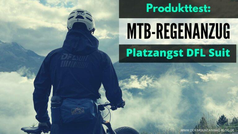 Mountainbike Regenanzug Dirtsauit